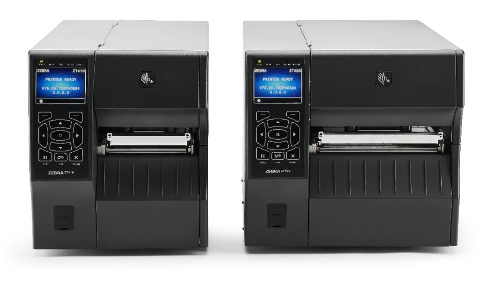 ZT400 Zebra Industrial Printers